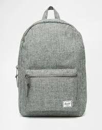 Image result for herschel backpack black and white