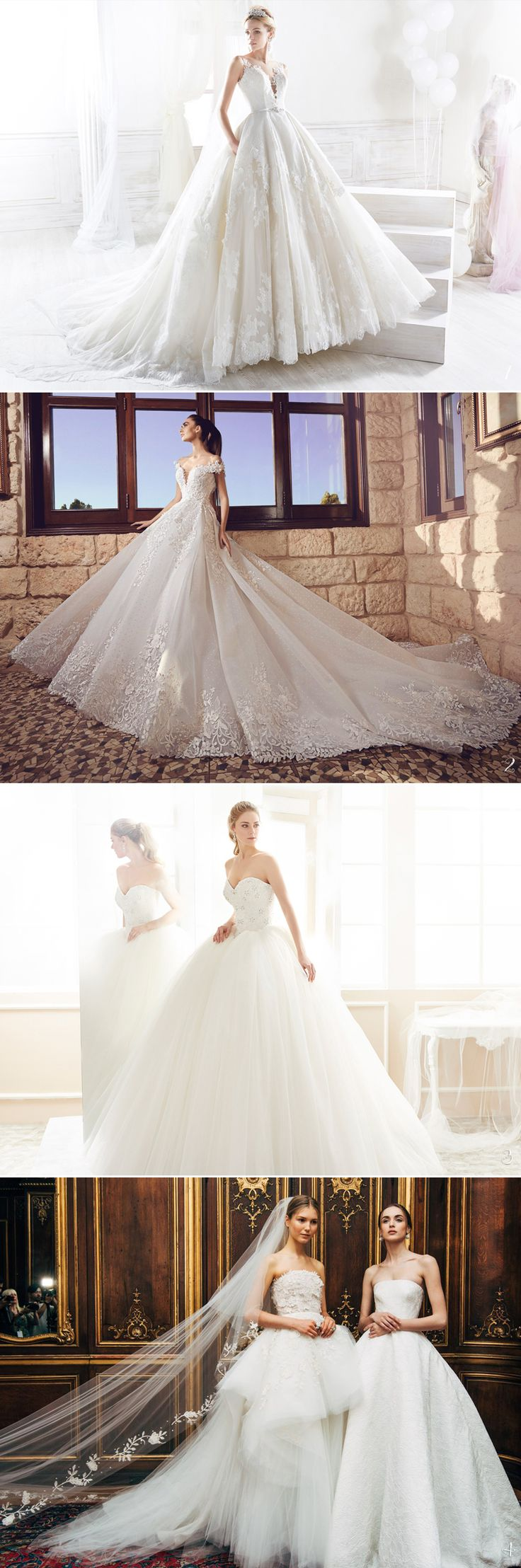 2018 Revealed! 25 Romantic Ball Gowns That Stole Our Hearts - Classic Ball Gowns