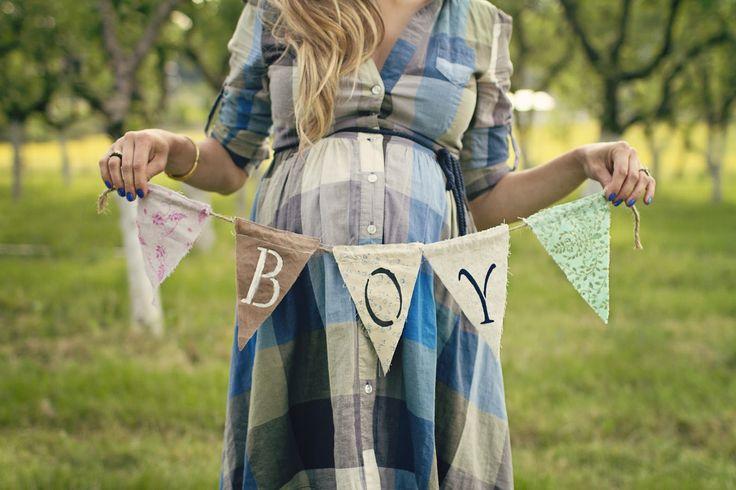 Sesión de fotos de maternidad estilo vintage