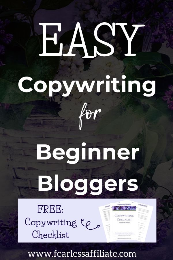 Einfaches Copywriting für Anfänger-Blogger