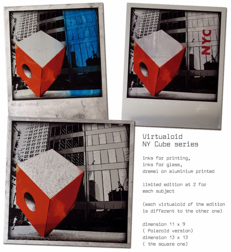 Fabrizio Bellanca.com: Virtualoid NY Cube series