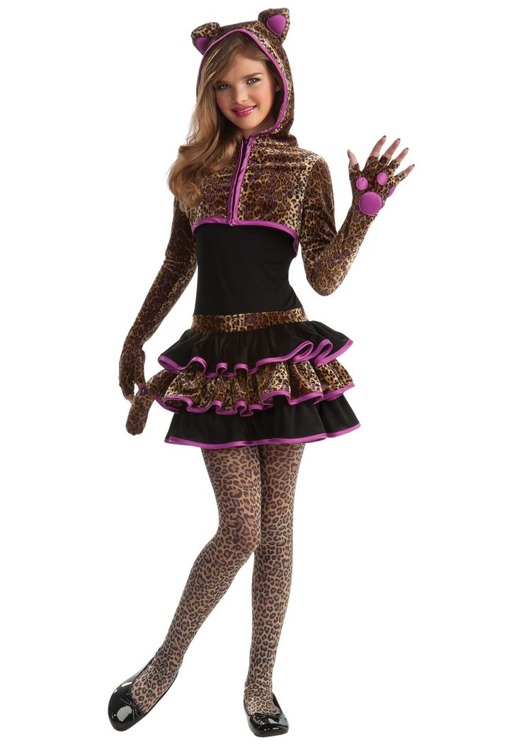 tween halloween costumes in this leopard tween girls costume the tween leopard - Wolf Halloween Costume Kids