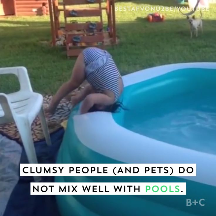 Watch this video and get ready to laugh at these summer pool fails.