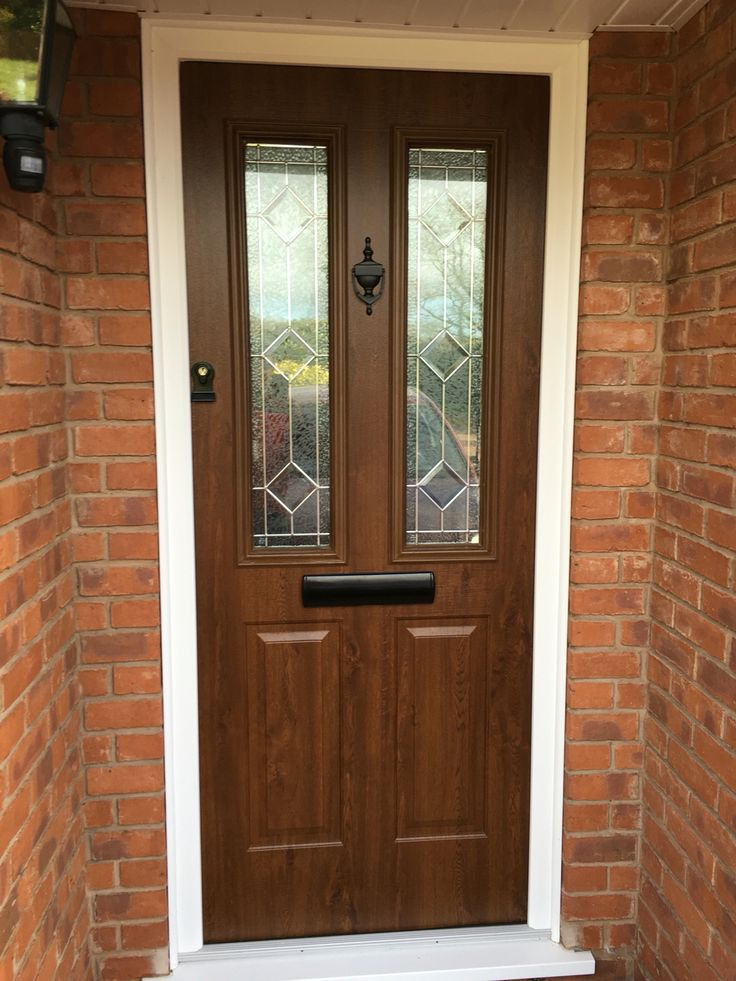 Solid Wood Core Composite in Nut Tree & TWS windows and doors showroom in Kidderminster | Worcestershire