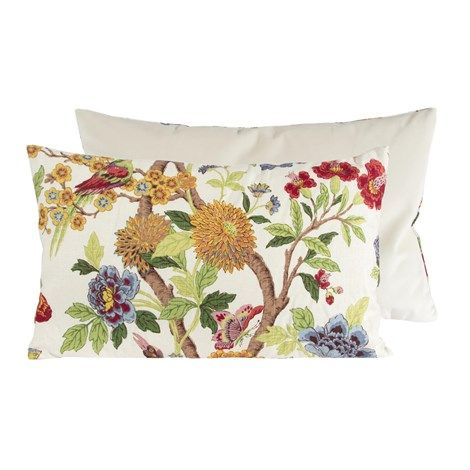 Bird Flower Pillow