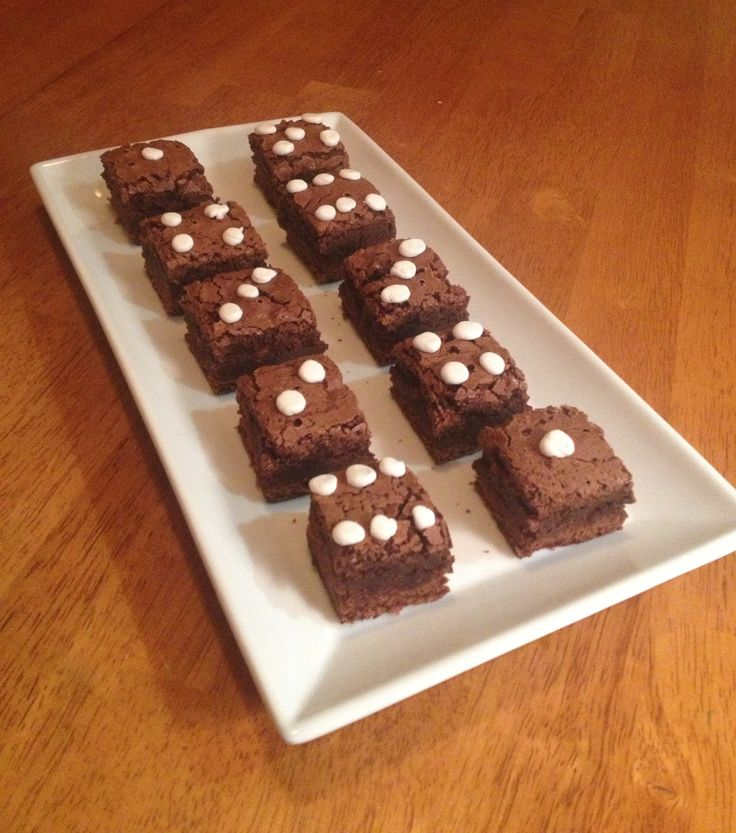 Haha right need a casino party so I can make brownies like this!