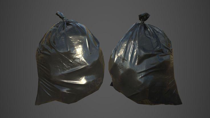 ArtStation - Trash bag, J.Suk LEE