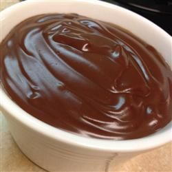 Dairy Free Chocolate Pudding   (I used chocolate almond milk, reduced cocoa to a few tablespoons and doubled the sugar)