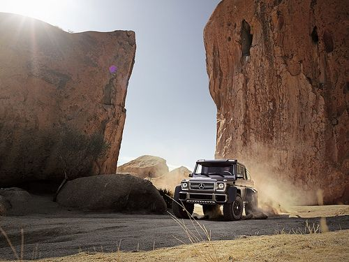 Mercedes-Benz G63 AMG 6x6 by Auto Clasico, via Flickr
