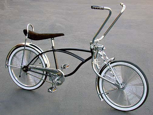 Vélo siège banane