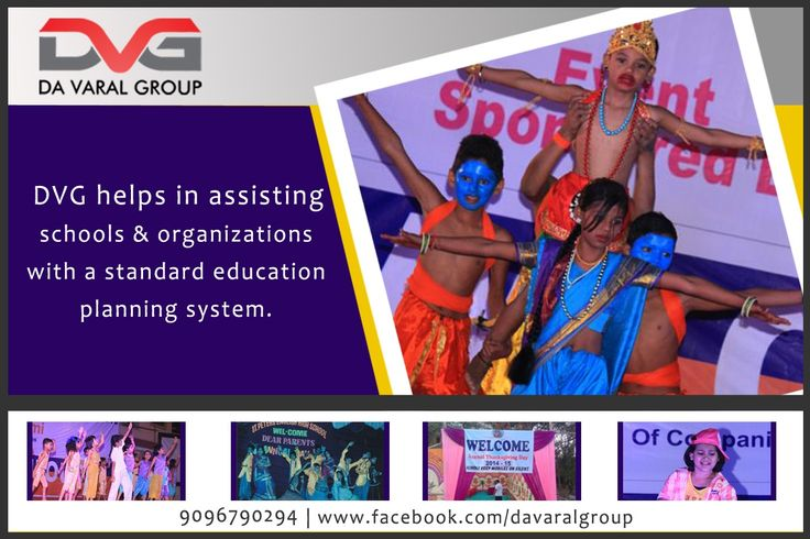 DVG helps in assisting schools & organizations with a standard education planning system. DVG helps you manage your Institute in a modern and easier way! #digitalmarketing #SEO #SMO #EducationConsultants #CoCirricular #Activities  #Workshops #music #dance #karate #sportsprogram #printmedia #flex #PR #socialevents #survey #celebrityshoot #news #authoredarticles #announcements #eventmanagement #academicecosystem #websitedesign Contact us @ 9096790294