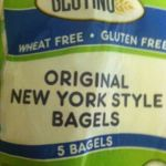 I thought I would NEVER find a GF bagel that tastes good...Tah dah! Here it is: Glutino Original New York Style Bagels (also comes in poppy, sesame & cinnamon raisin :)