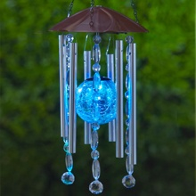 crackle glass ball chime