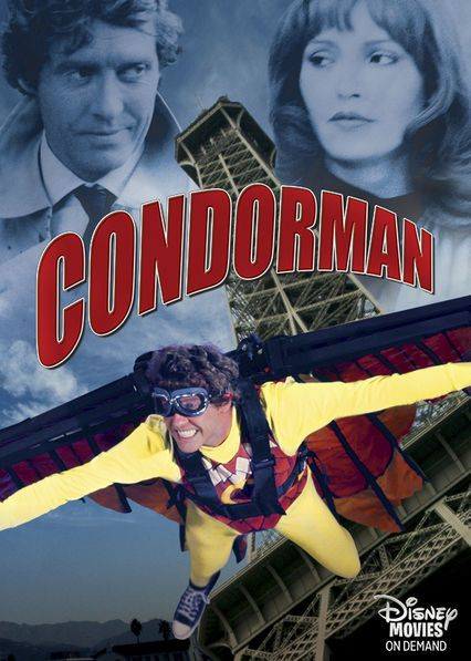 Condor Man - When a comic book artist adopts the identity of his character, Condorman, and bumbles his way into espionage, a beautiful Russian spy seeks his help.