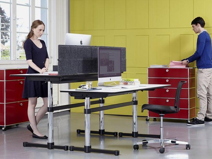 USM KITOS M Bureau réglable en hauteur by USM Modular Furniture