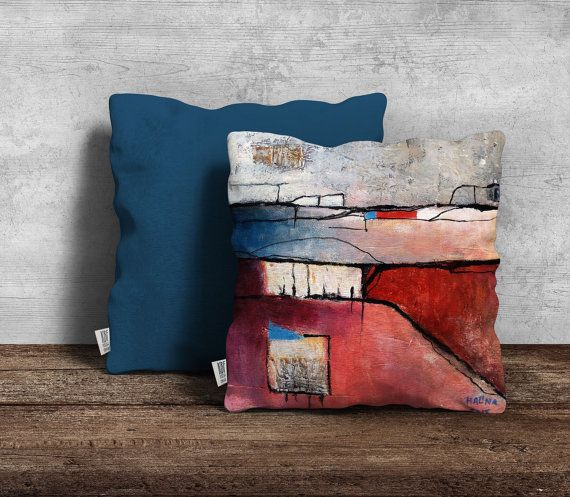 Set of 2 modern cushion covers featuring by PeachyArtandTreasure