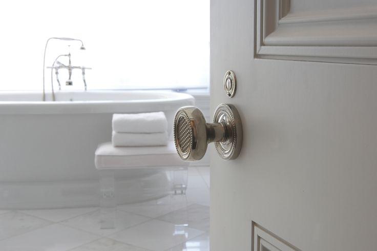 Ornate detailed door knob!