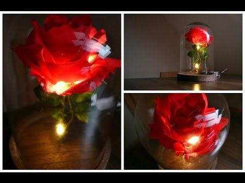 Ewige Rose schenken: verzauberte Rose basteln - Anleitung + Video