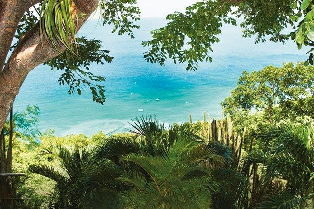 MUSTIQUE | View from Greystone Cottage on Mustique, in the Caribbean