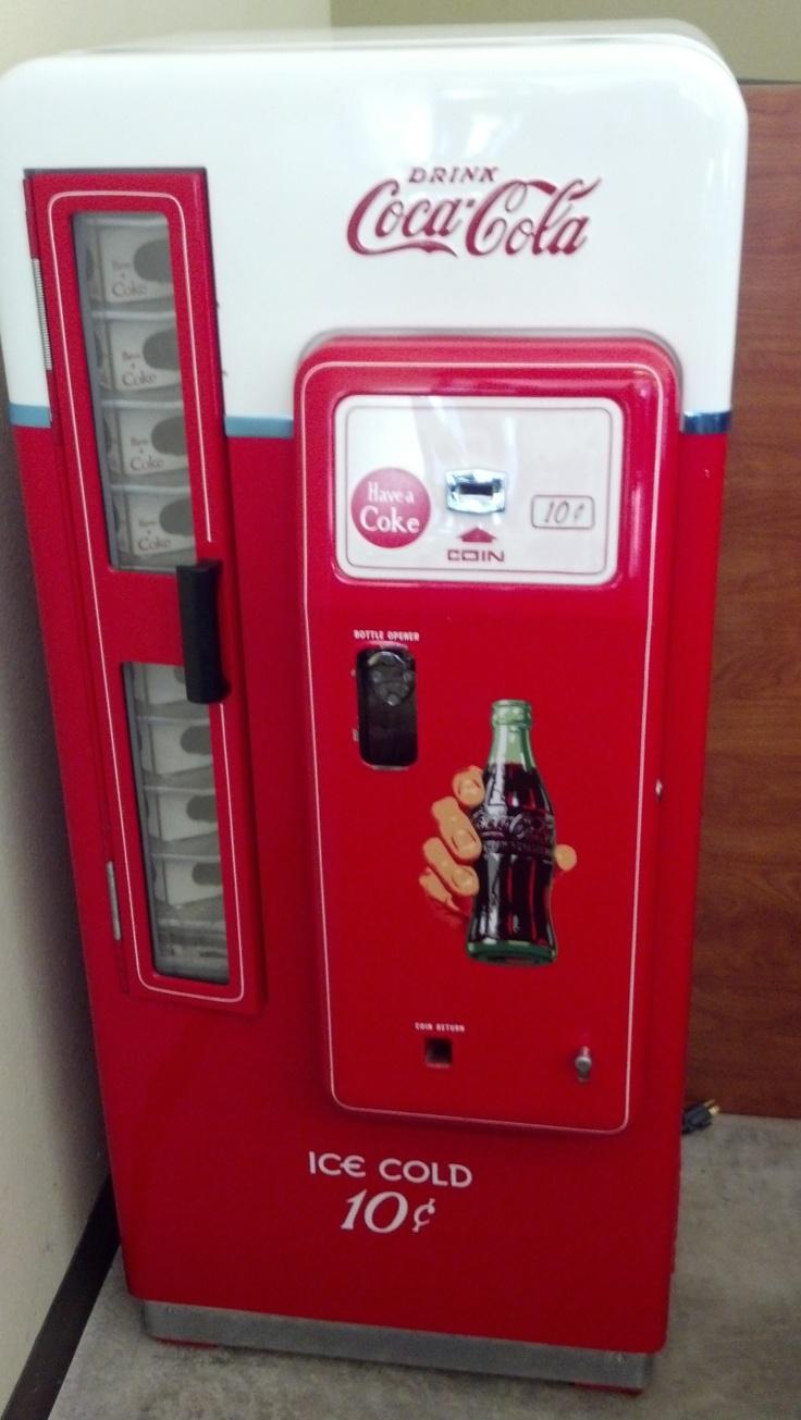 cool coke machine