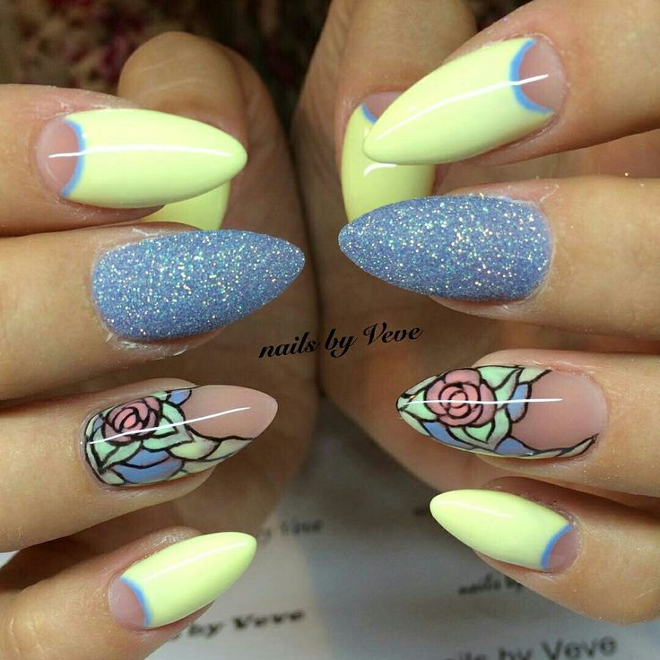 530 best images about Flower Nail Art on Pinterest | Nail art ...