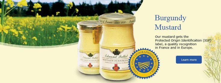La Moutarderie Fallot est une maison indépendante Bourguignonne et familiale depuis 1840.