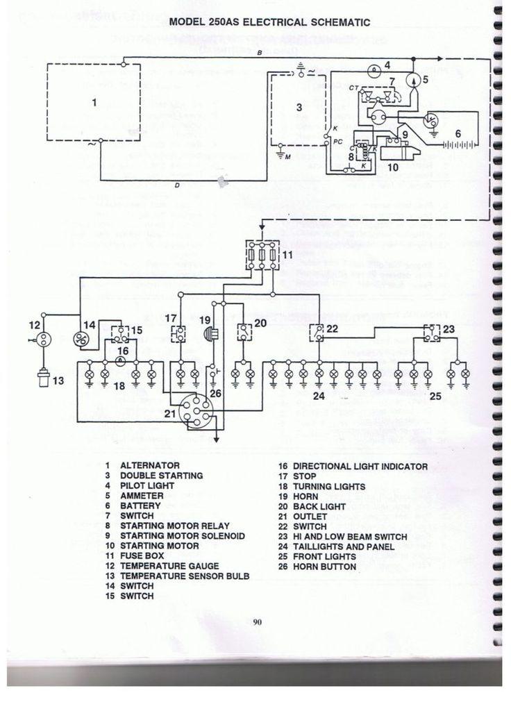 Belarus 250as Wiring Diagram Electrical Schem 001 Jpg For