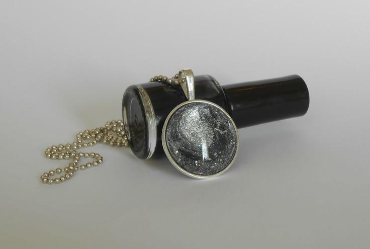 nail polish necklace