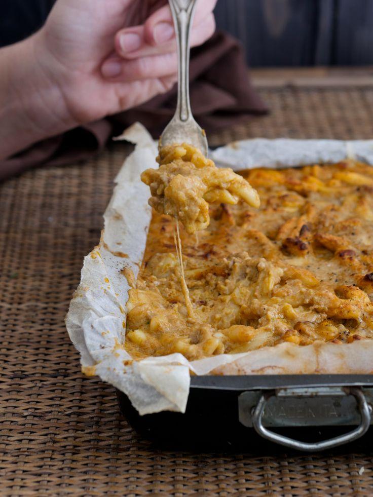 Pasta fresca alla Montecarlo gratinata