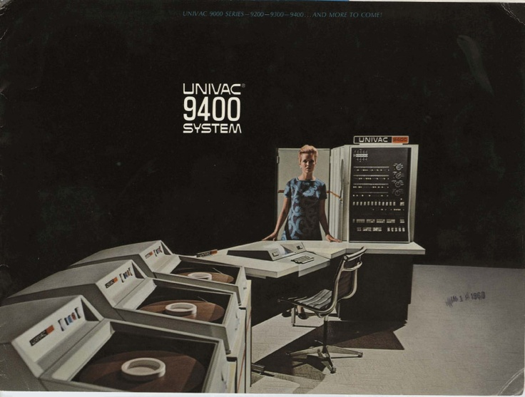 The Univac 9400 computer system