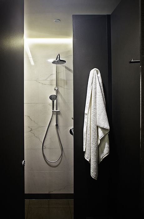 bokor - Aurora Place, End Of Trip Facility, Shower, Sydney NSW Published on AFR: http://www.afr.com/real-estate/sydney-offices-pump-millions-into-upgrading-cycling-facilities-20150416-1mioba
