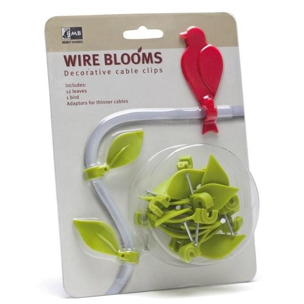 Originele kabelclips Wire Bloom - Wonen