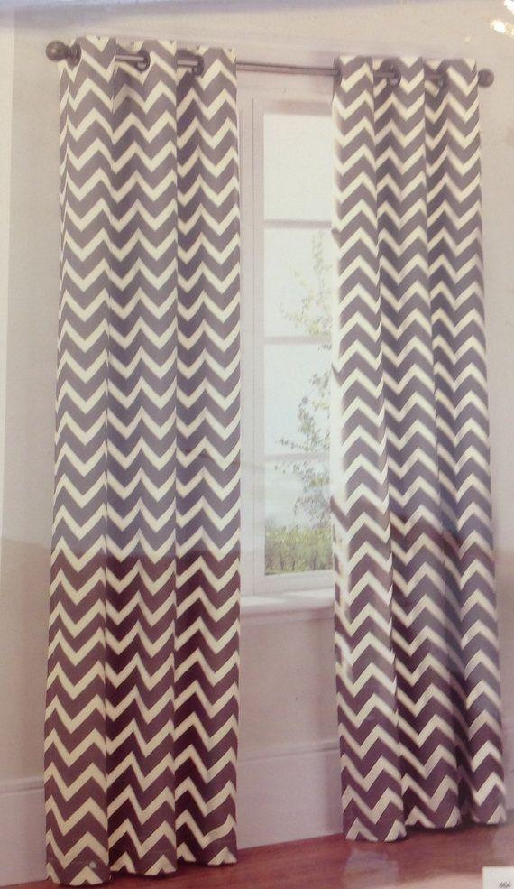 25 Best Ideas About Grey Chevron Curtains On Pinterest
