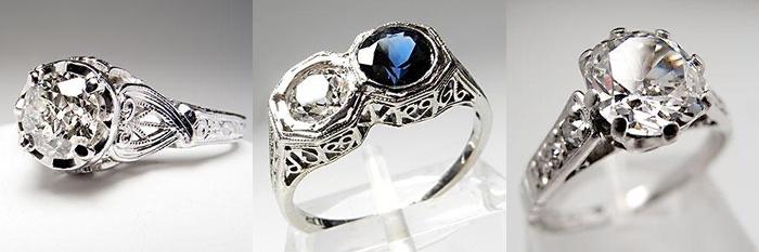 Si a tu prometida le gustan el romántico estilo vintage, esta colección de anillos de compromiso estilo antiguo es lo que estás buscando. Ningún otro anillo se verá más bonito que estos, especialmente para las mujeres soñadoras que les gusta la época antigua.