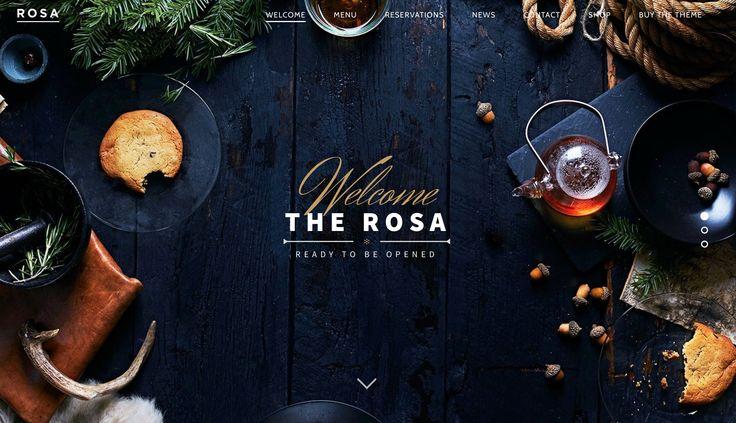 ROSA — WordPress theme