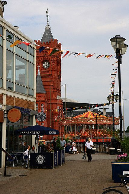 Cardiff Bay, Cardiff, South Wales, UK
