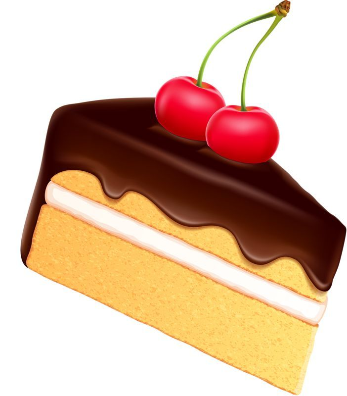Slice Of Cake Clipart : Pin by Mara P. on Postres, frutas Pinterest Clip art