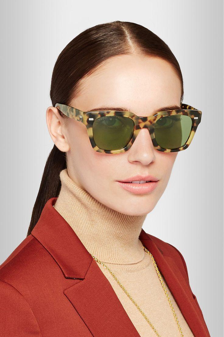 Tortoiseshell D-frame sunglasses Gucci 6gv6s