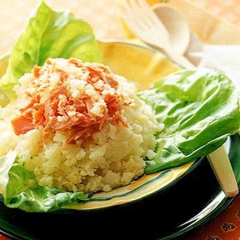 鮭ポテトサラダ | 川村由紀子さんのサラダの料理レシピ | プロの簡単料理レシピはレタスクラブニュース