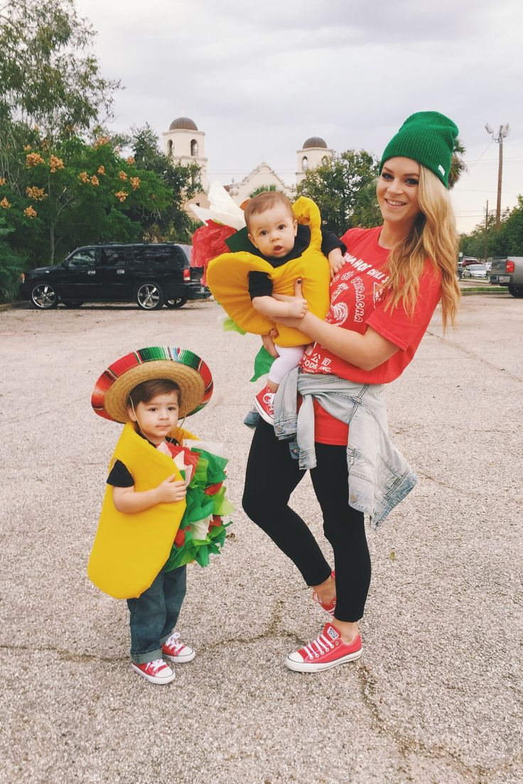 Taco Family   Halloween Costume   Food Truck Costume   Halloween   Couples Costumes   DIY   Sriracha Costume