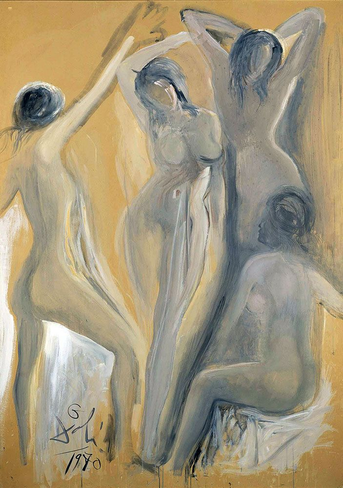 "Dali Salvador Young Ladies Of Avignon From 1970 Museum Reina Sofia (from <a href=""http://www.oldpainters.org/picture.php?/32765/category/338"">serra</a>)"