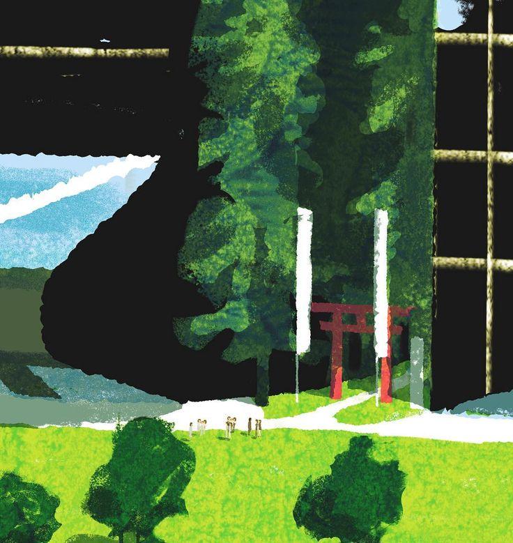 #illustration #illustrator #tatsurokiuchi #art #drawing #life #lifestyle #happy #japan #people #木内達朗 #イラスト #イラストレーション
