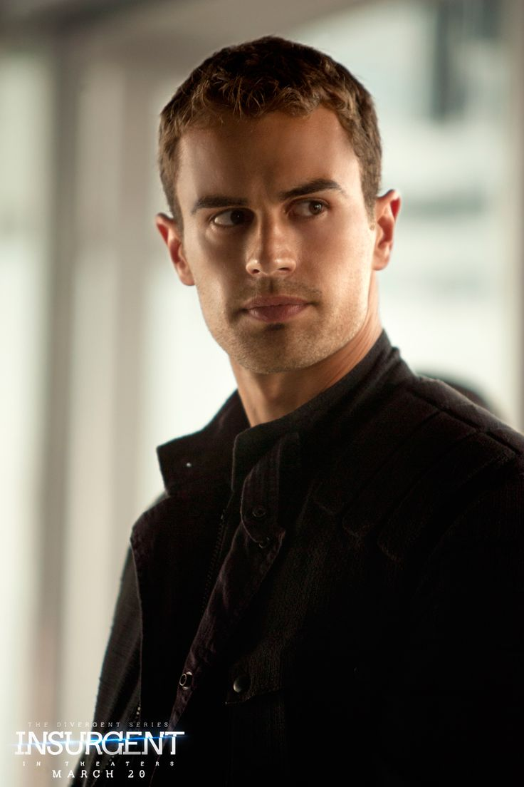 No more lies. Theo James as Four in Insurgent. Click through to see the full cast & crew!  #FandomFriday