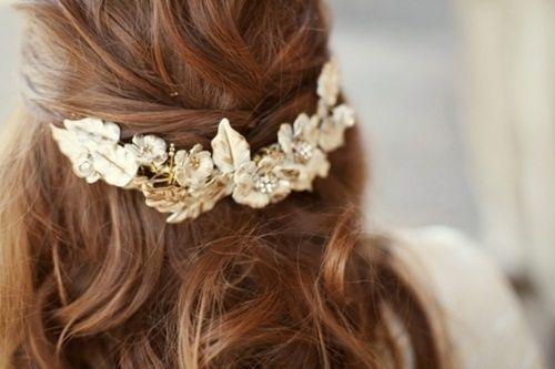 gorgeousHair Ideas, Hair Piece, Hair Flower, Wedding Hair, Hair Clips, Temples Wedding, Hair Accessories, Hairpiece, Flower Hair