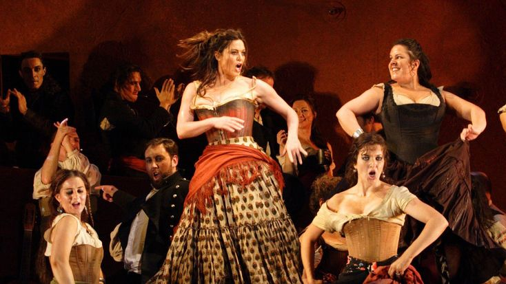 The Spanish heat and gypsy passion of Carmen take to the stage as The Royal Opera presents the first revival of Francesca Zambello's vibrant production with ...
