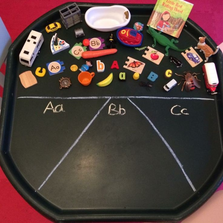 allbirdsareowls – Sequel to all birds are ducks https://allbirdsareowls.wordpress.com/  Use our chalk boards already divided up and our abc items to sort.