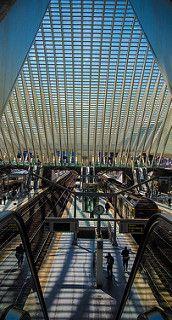 Gare de Liège #Belgique #architecture