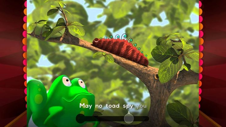 Caterpillar #cat #caterpillar #frog #toad #butterfly #rhyme #kids #fun
