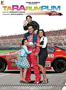 "Rajveer Singh works as a pit stop crew worker at the New York speedway and dreams of becoming a race car driver himself one day. Fate has a pleasant surprise in store for him when he is selected as the driver for a down-and-out team called Racing Saddles. He falls in love with Radhika and she marries him against her wealthy father's wish. Over the years, they are blessed with two adorable children, Princess and Champ, and Rajveer ""R.V."" becomes the highest ranking race car driver in the US…"