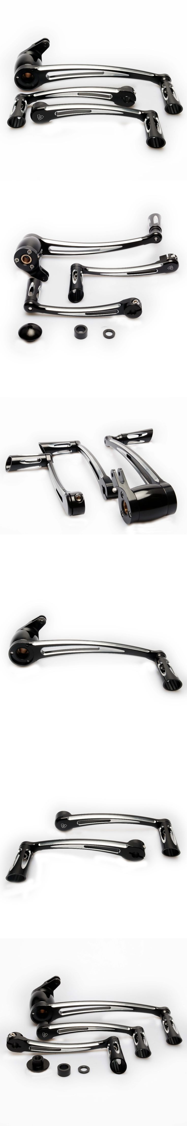 Motorcycle accessories Deep Cut Brake Arm Shift Lever Pegs For Harley Roadking glide ultra Tri 14 15 16